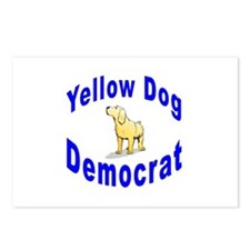 Yellow Dog Democrat Postcards (Package of 8)