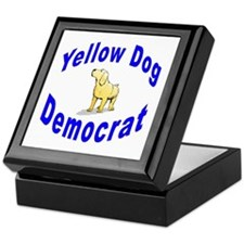 Yellow Dog Democrat Keepsake Box