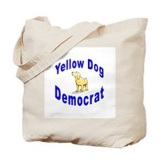Yellow Dog Democrat Tote Bag
