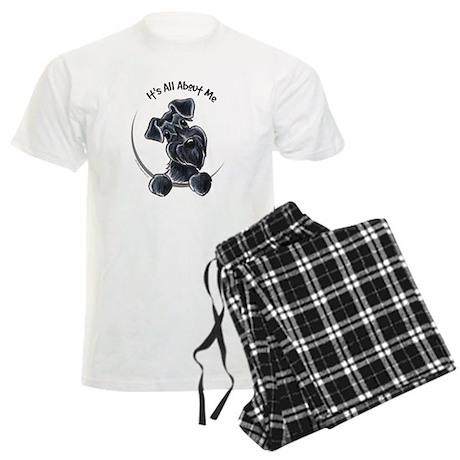 Black Schnazuer IAAM Men's Light Pajamas