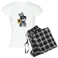 Sunflower Schnauzer Pajamas