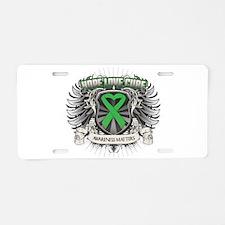 Hope Bile Duct Cancer Aluminum License Plate