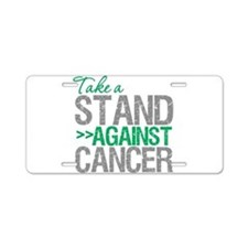 Take a Stand - Liver Cancer Aluminum License Plate