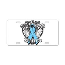Prostate Cancer Warrior Aluminum License Plate