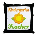 Cute Kindergarten Throw Pillow