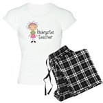 Cute Kindergarten Teacher Women's Light Pajamas