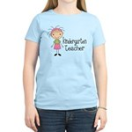 Cute Kindergarten Teacher Women's Light T-Shirt