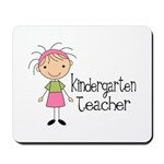 Cute Kindergarten Teacher Mousepad