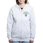 Cute Kindergarten Women's Zip Hoodie