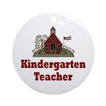 Kindergarten Ornament (Round)