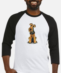 Airedale Welsh Terrier Baseball Jersey