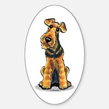 Airedale Welsh Terrier Decal