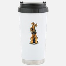 Airedale Welsh Terrier Travel Mug