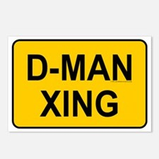 D-man Xing Postcards (Package of 8)