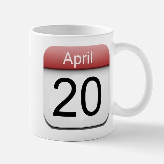4:20 Date Mug