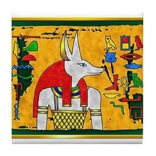 Cute Akhenaten Tile Coaster