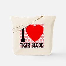 I Love Tiger Blood Tote Bag
