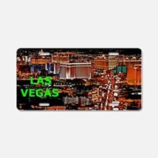 Las Vegas Strip Aluminum License Plate