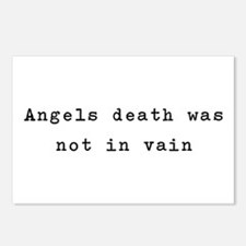 Not in Vain Postcards (Package of 8)