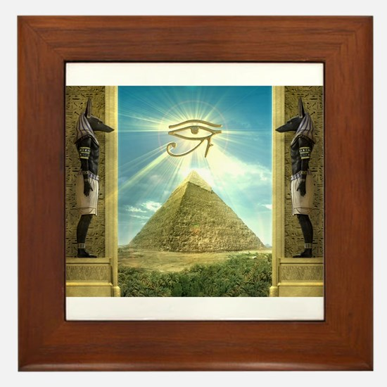 Cute Egyptian Framed Tile