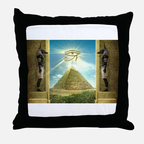 Cute Egypt Throw Pillow