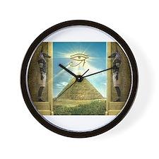 Unique Pyramid Wall Clock