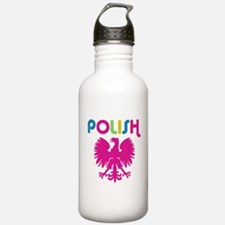 80's Retro Polish Eagle Water Bottle