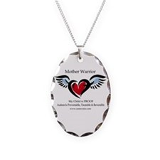 Autism Mother Warrior Necklace