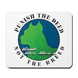 Pit bull mouse pad Classic Mousepad