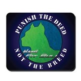 Pit bull mouse pad Classic Mousepad