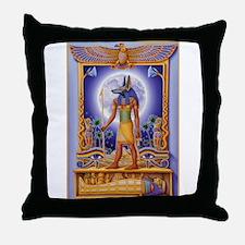 Unique Hieroglyphic Throw Pillow