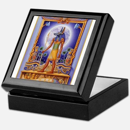 Funny Anubis Keepsake Box