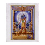 Anubis Fleece Blankets