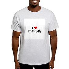 I * Maliyah Ash Grey T-Shirt