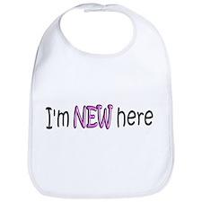 I'm New Here Bib