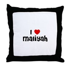 I * Maliyah Throw Pillow