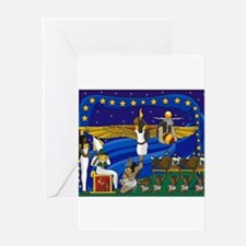 Funny Christmas egyptian Greeting Card