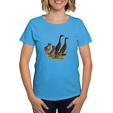 Chocolate Runner Duck Family Tee