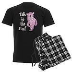 Talk To The Hoof Men's Dark Pajamas