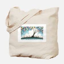 Magical Reading Tree Tote Bag
