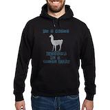 Llama Hoodie (dark)