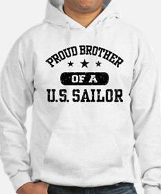 Proud Brother of a US Sailor Jumper Hoody
