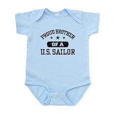 Proud Brother of a US Sailor Infant Bodysuit