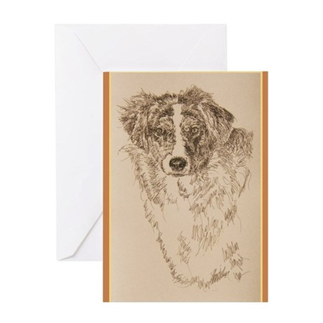 Australian Shepherd Greeting Card