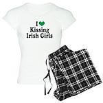 Kissing Irish Girls Women's Light Pajamas
