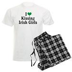 Kissing Irish Girls Men's Light Pajamas