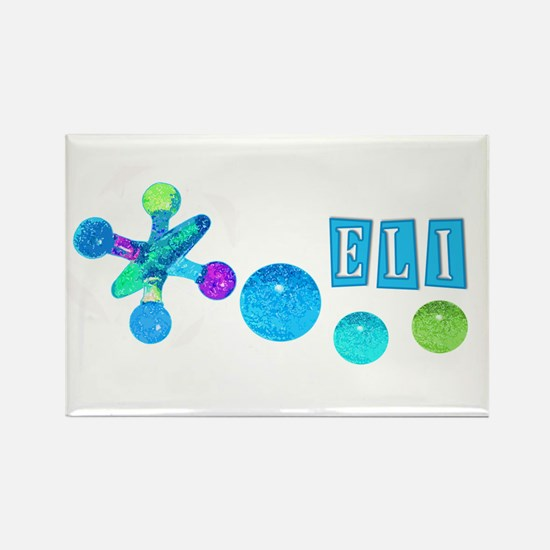 Jacks for 'Eli' Rectangle Magnet
