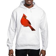 Red Male Cardinal Jumper Hoody