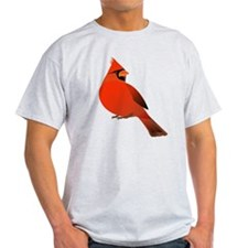 Red Male Cardinal T-Shirt