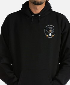 Dapple Doxie IAAM Pocket Hoodie (dark)